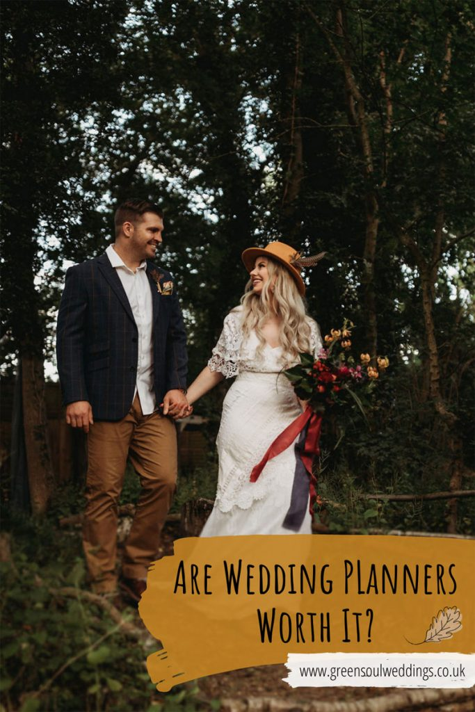 pinterest graphic to be able to refer back to this post about the benefits of wedding planners